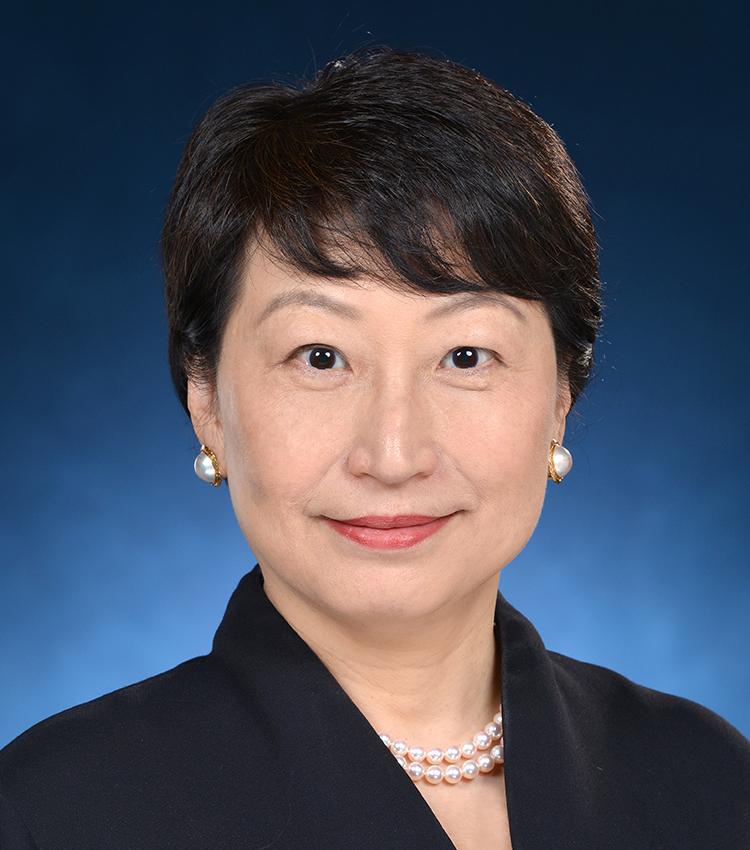 鄭若驊女士 GBS, SC, JP